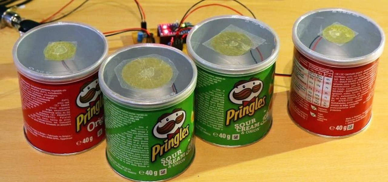 Rock Harder on GarageBand with a DIY Pringles Can Drum Kit