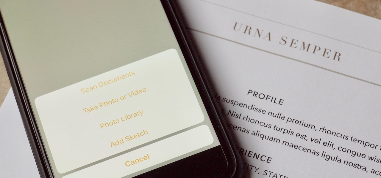 Notes 101: How to Scan, Edit & Share Documents Right Inside Notes on Your iPhone