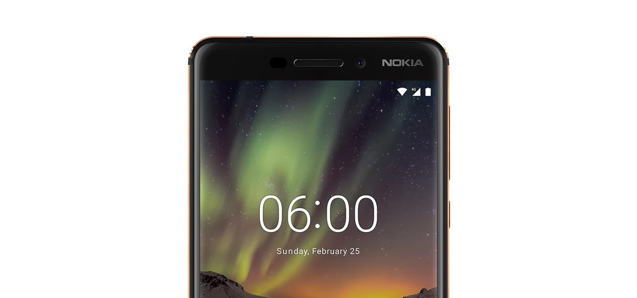 the new nokia 6 1 is a solid upgrade to one of last year s most rh smartphones gadgethacks com Nokia 6 Nokia C2-00