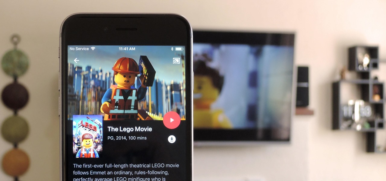 how to watch itunes movies on tv with chromecast