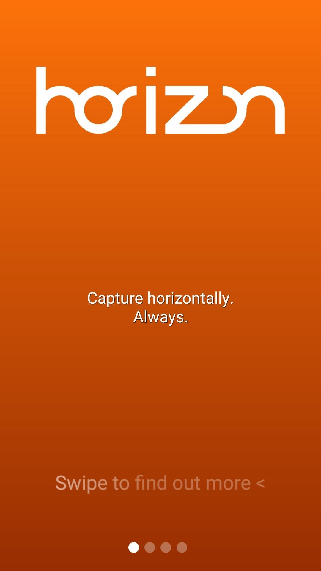 Horizon: The Solution to Crappy Vertical Videos on Android