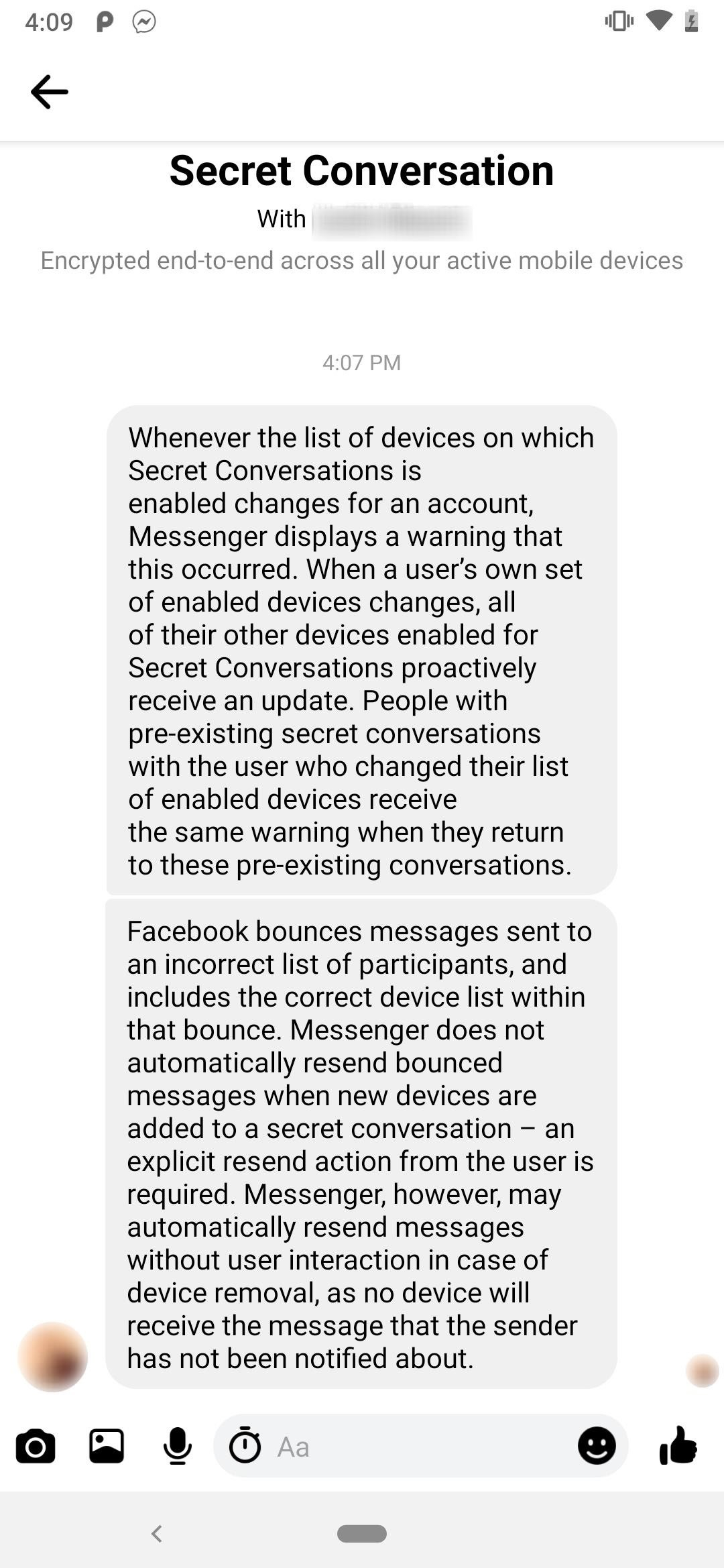 How to Chat with End-to-End Encryption Using Facebook Messenger's Secret Conversations