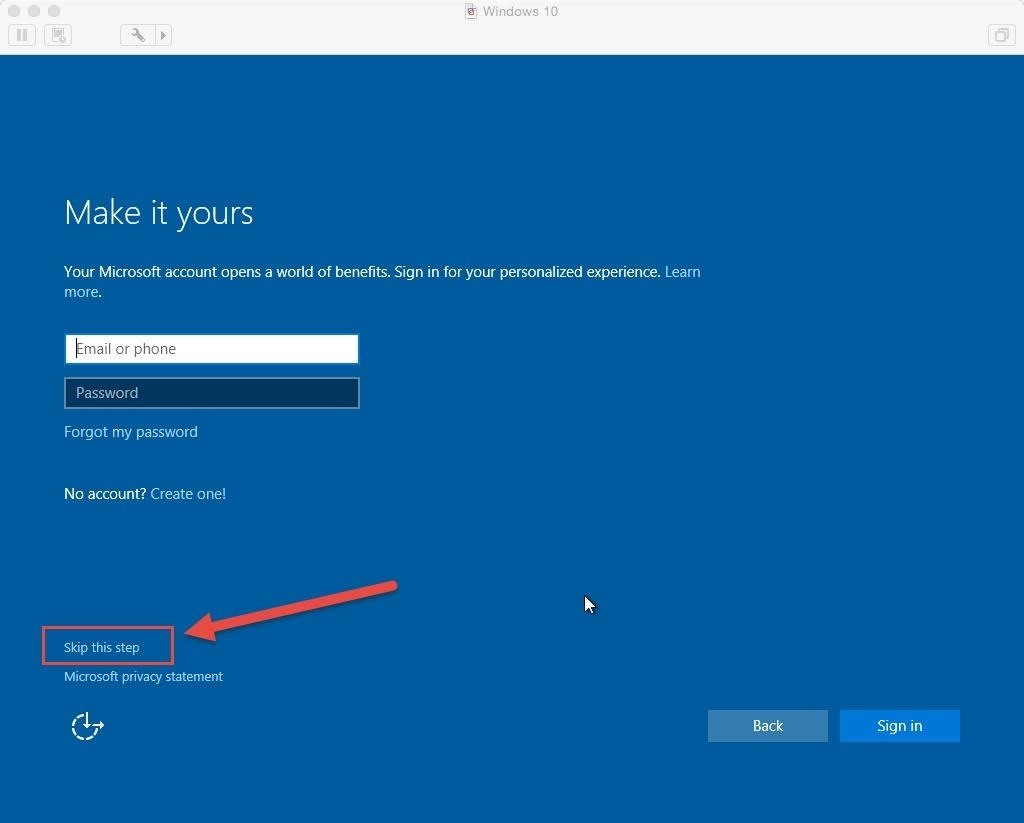 PSA: You Can Run Windows 10 Without a Microsoft Account « Windows ...