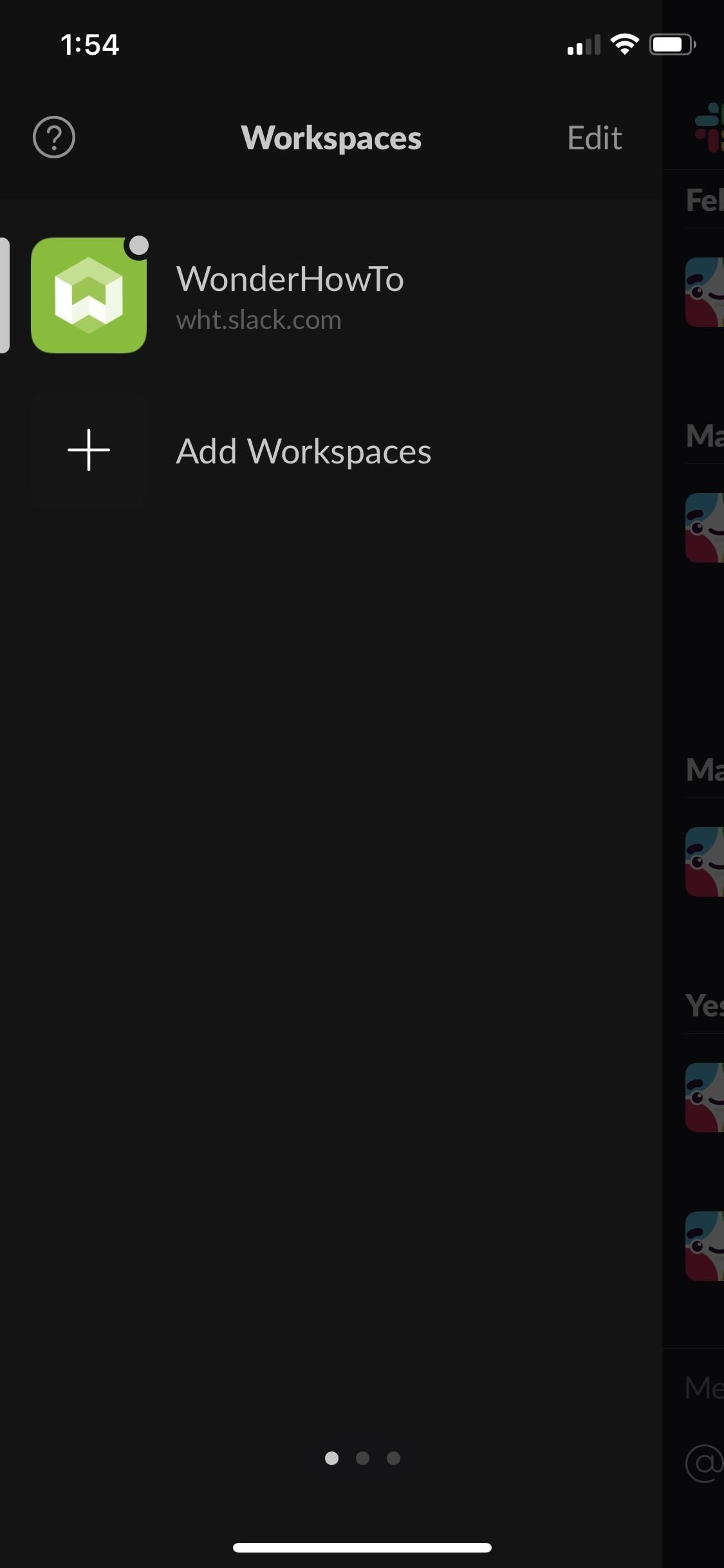 How to Get Slack's Sidebar to Work with Dark Mode on Your Phone