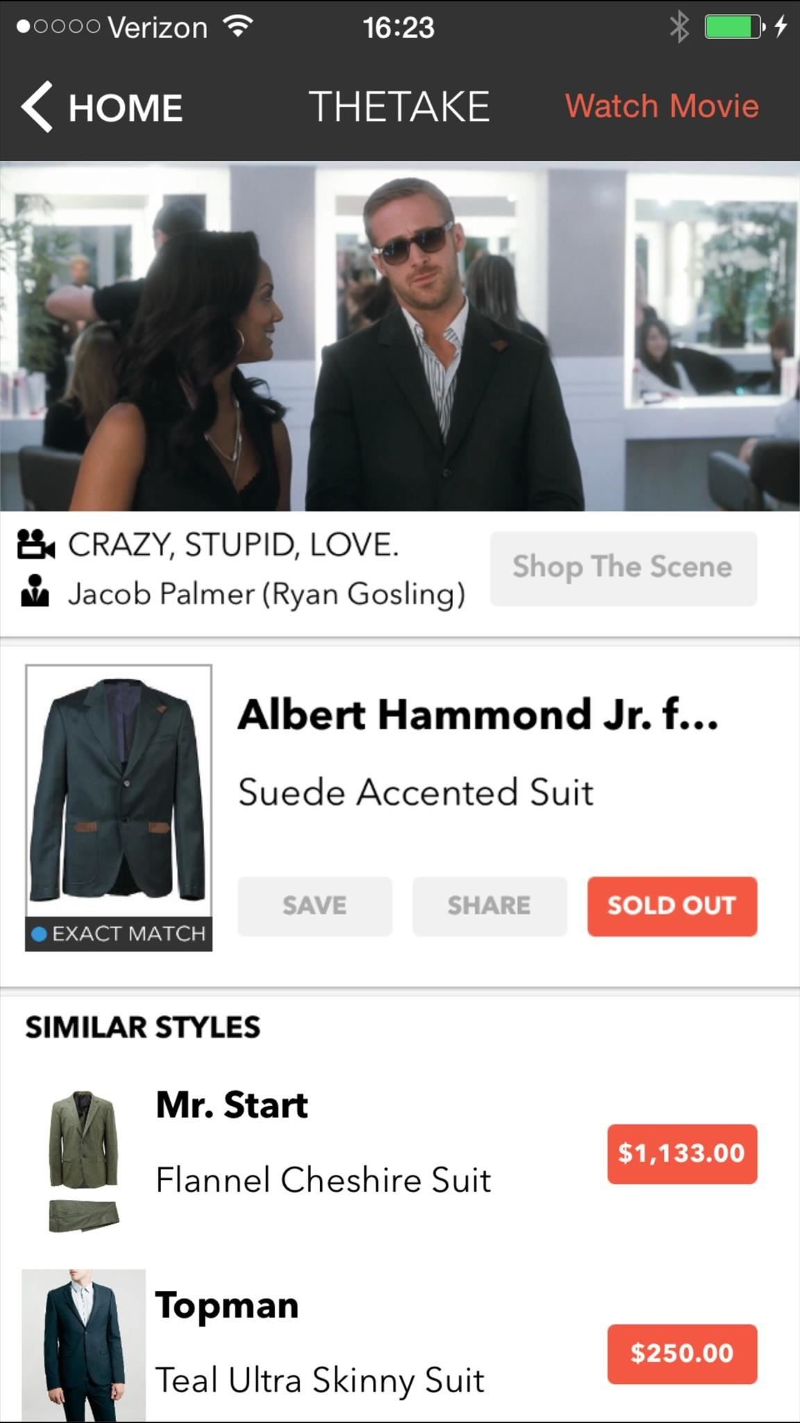 The Easiest Way to Find Clothing & Accessories That Celebs Wear in Movies