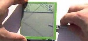 Take apart a Handspring Visor