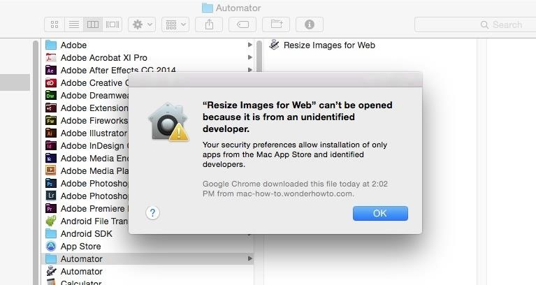 How to Open Third-Party Apps from Unidentified Developers in Mac OS X