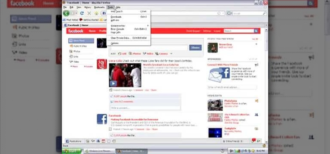 How to Change your Facebook color scheme using Firefox