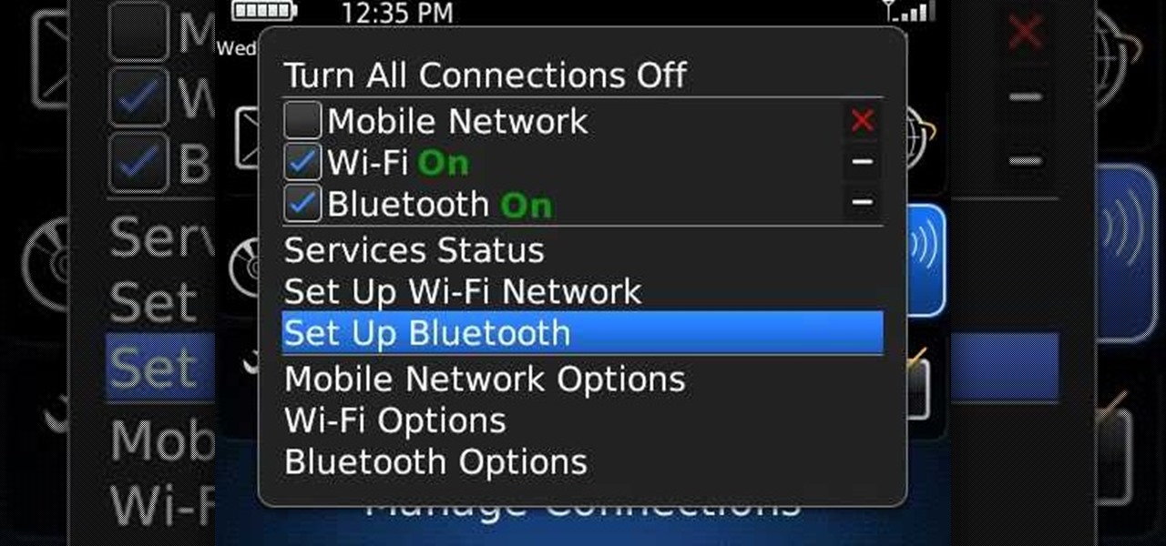 How to Pair a BlackBerry phone with another device using Bluetooth ...