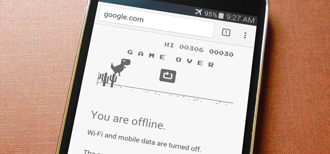 Unlock Chrome Beta's Hidden Side-Scroller Game on Android