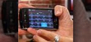 Lock and unlock your BlackBerry Storm
