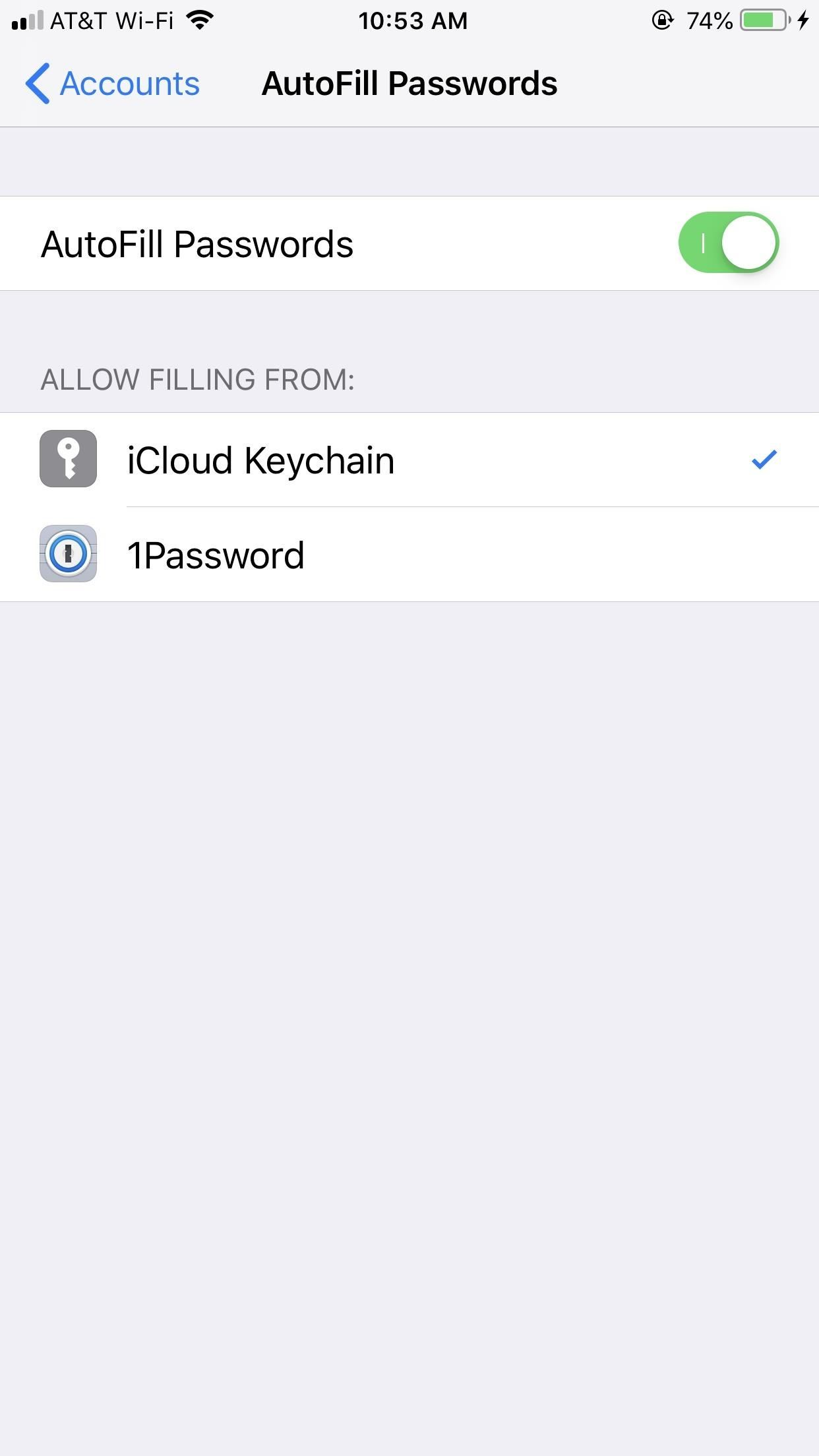 How to Use Third-Party Password Managers with iOS 12's AutoFill Feature