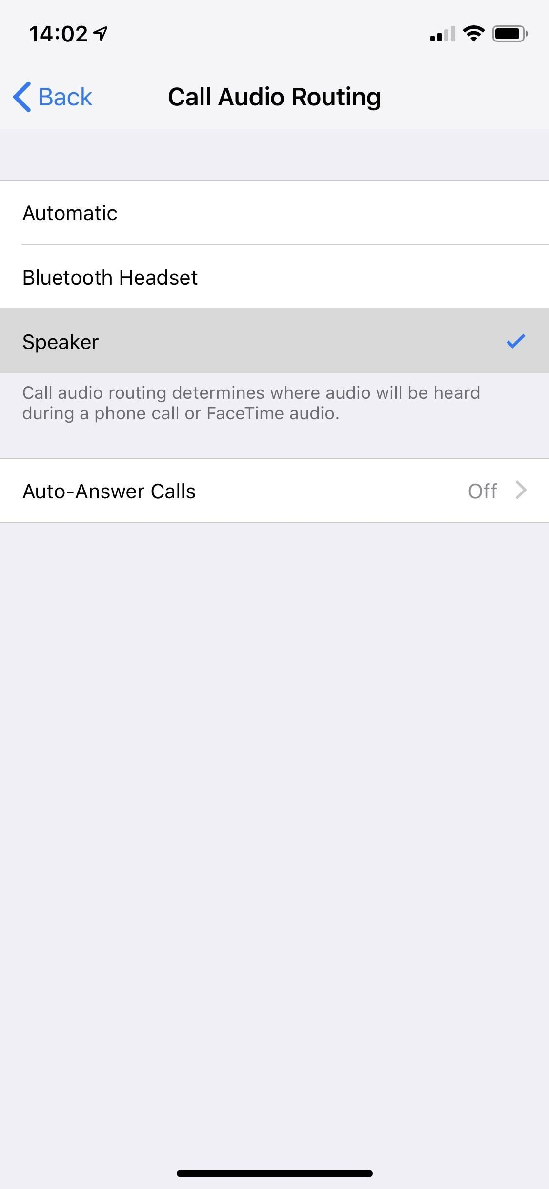 How to turn on the hands-free feature of your iPhone automatically for FaceTime audio calls