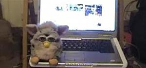 Make a perpetual motion USB powered Furby