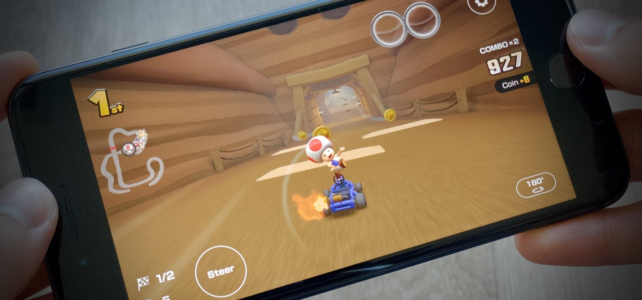 Force Mario Kart Tour to Always Use Landscape Mode on Your Phone