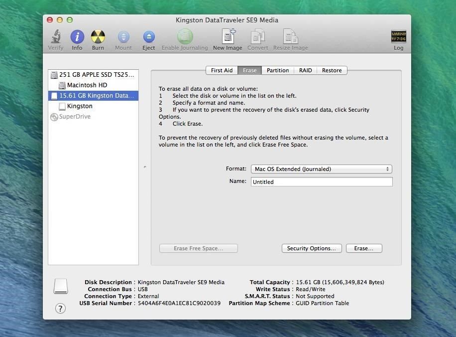 How to Create a Bootable Install USB Drive of Mac OS X 10 9