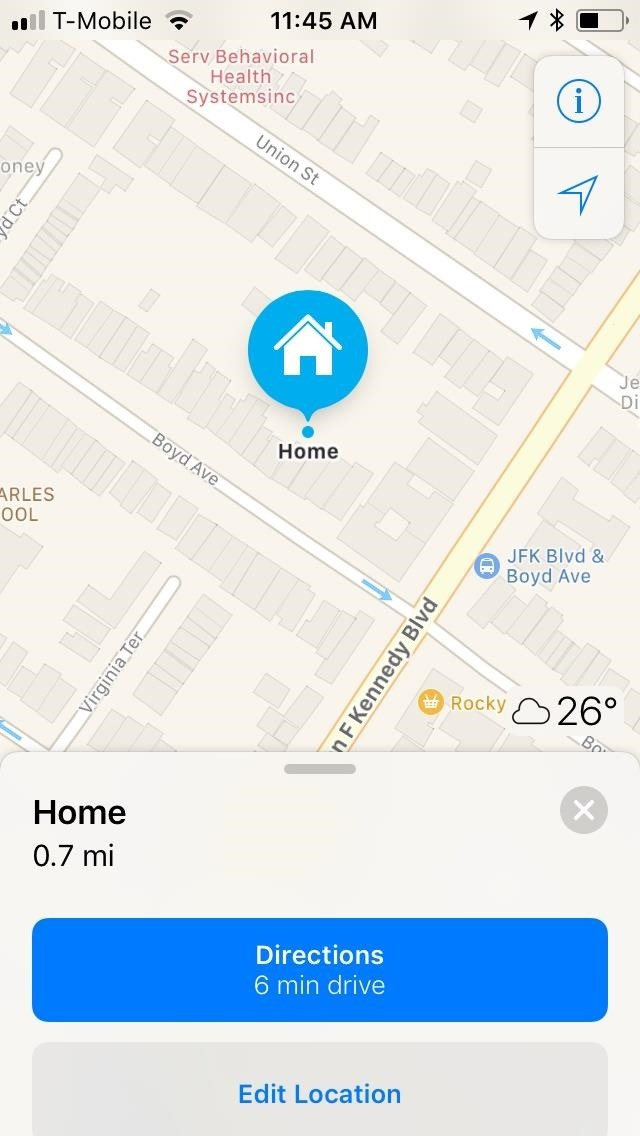 how to change home location on iphone apple maps 101 how to change your home or work address 8742