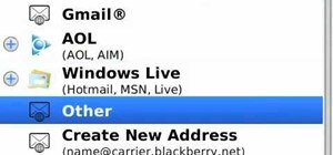 Add multiple email addresses on your BlackBerry smartphone