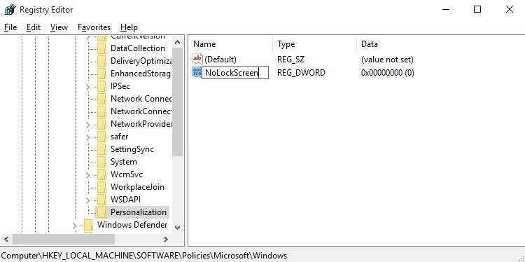 Como desativar a tela de bloqueio no Windows 10