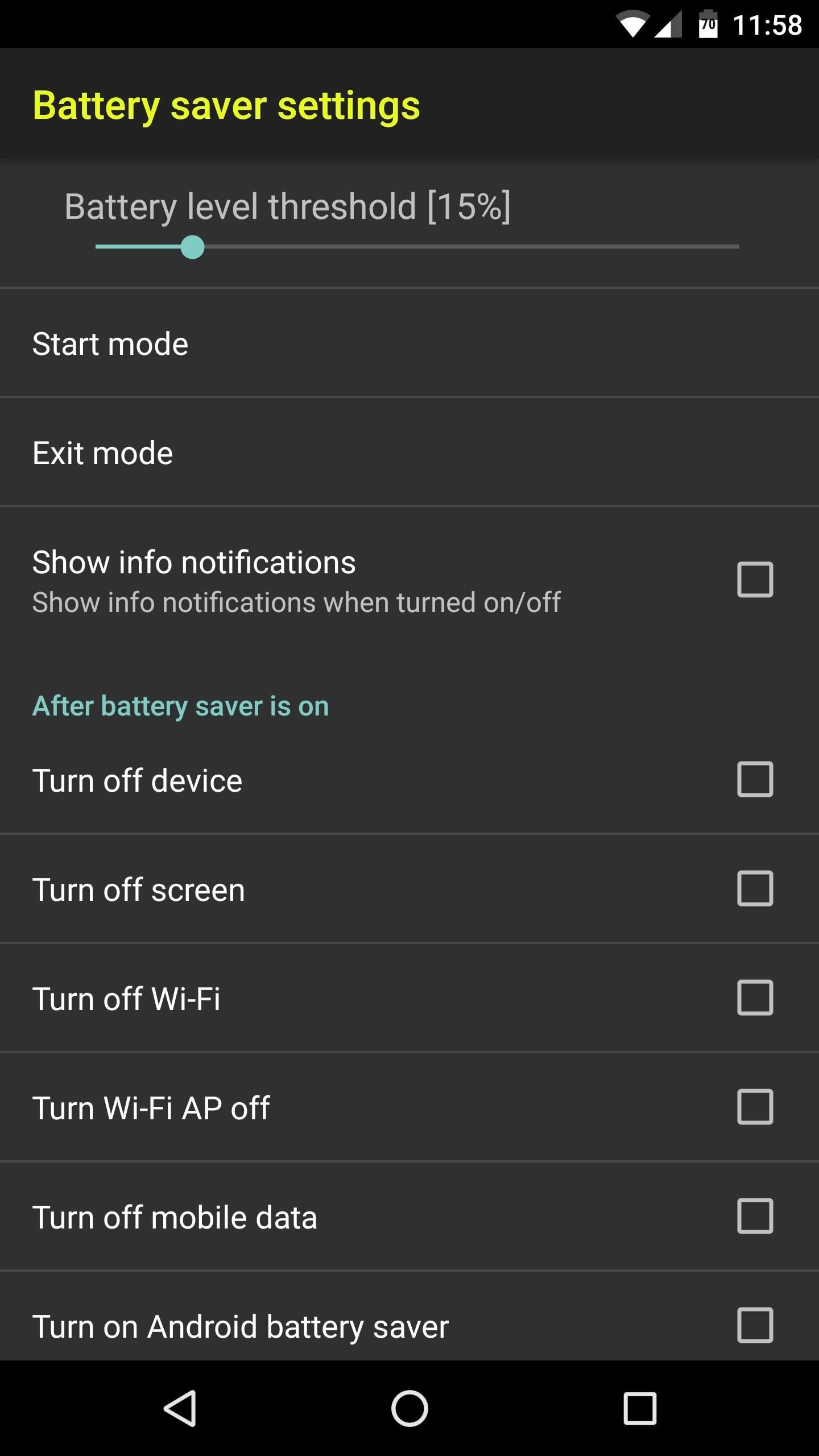 Improve Your Battery Life on Android with Granular Power Controls
