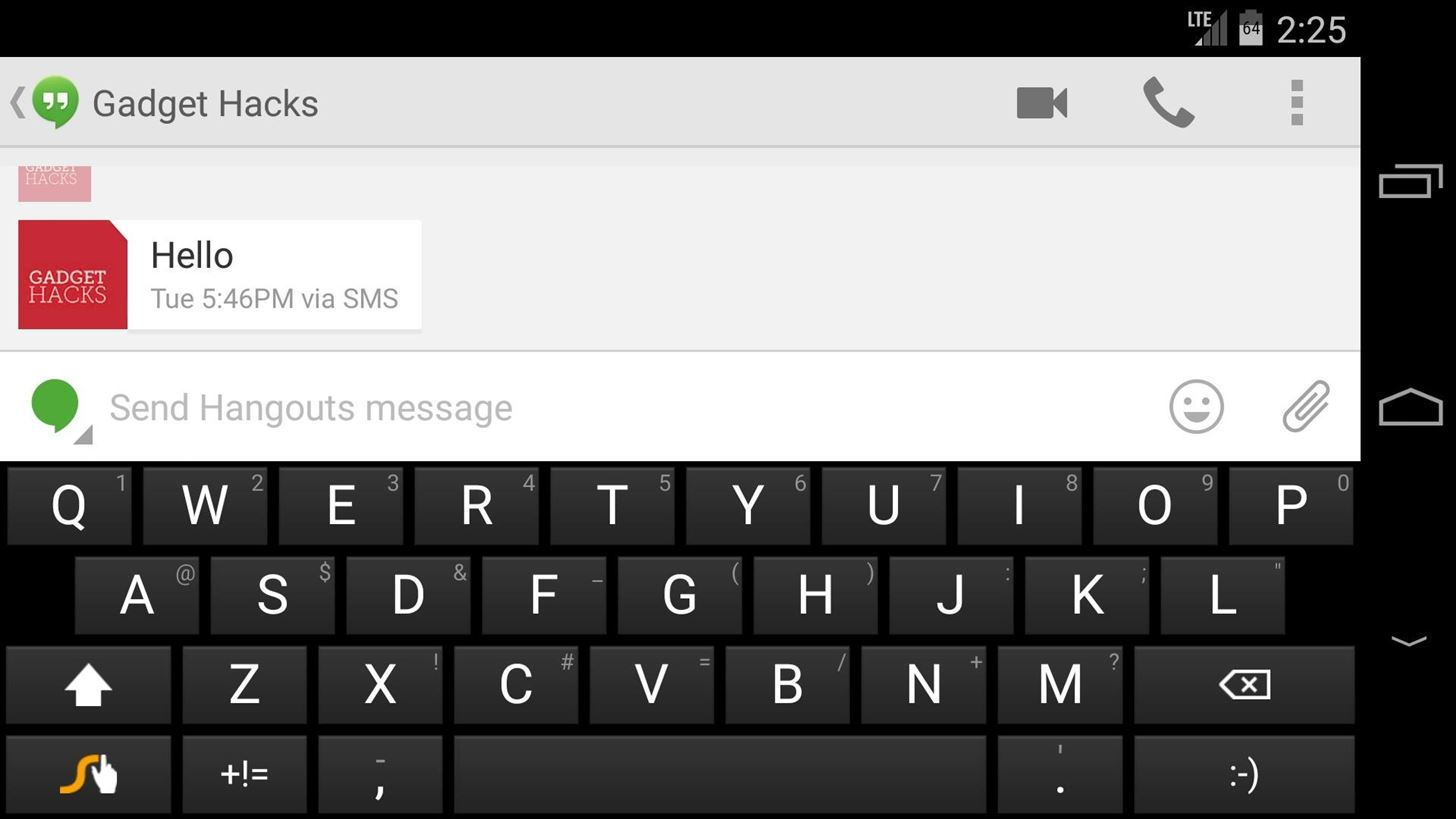 How to Increase Visible Screen Space When Using a Landscape Keyboard on Android