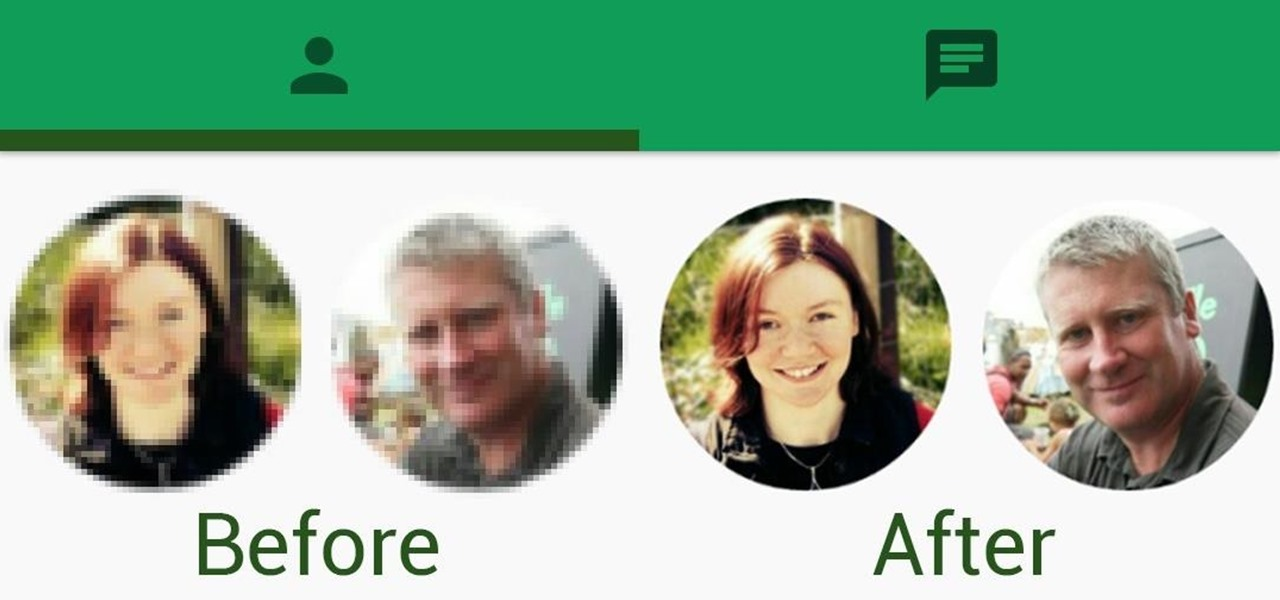 Make Contact Photos Look Sharper & Less Pixelated on Android
