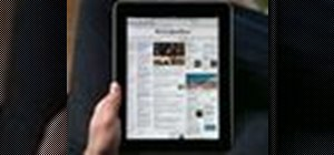 Use the Safari web browser on the Apple iPad