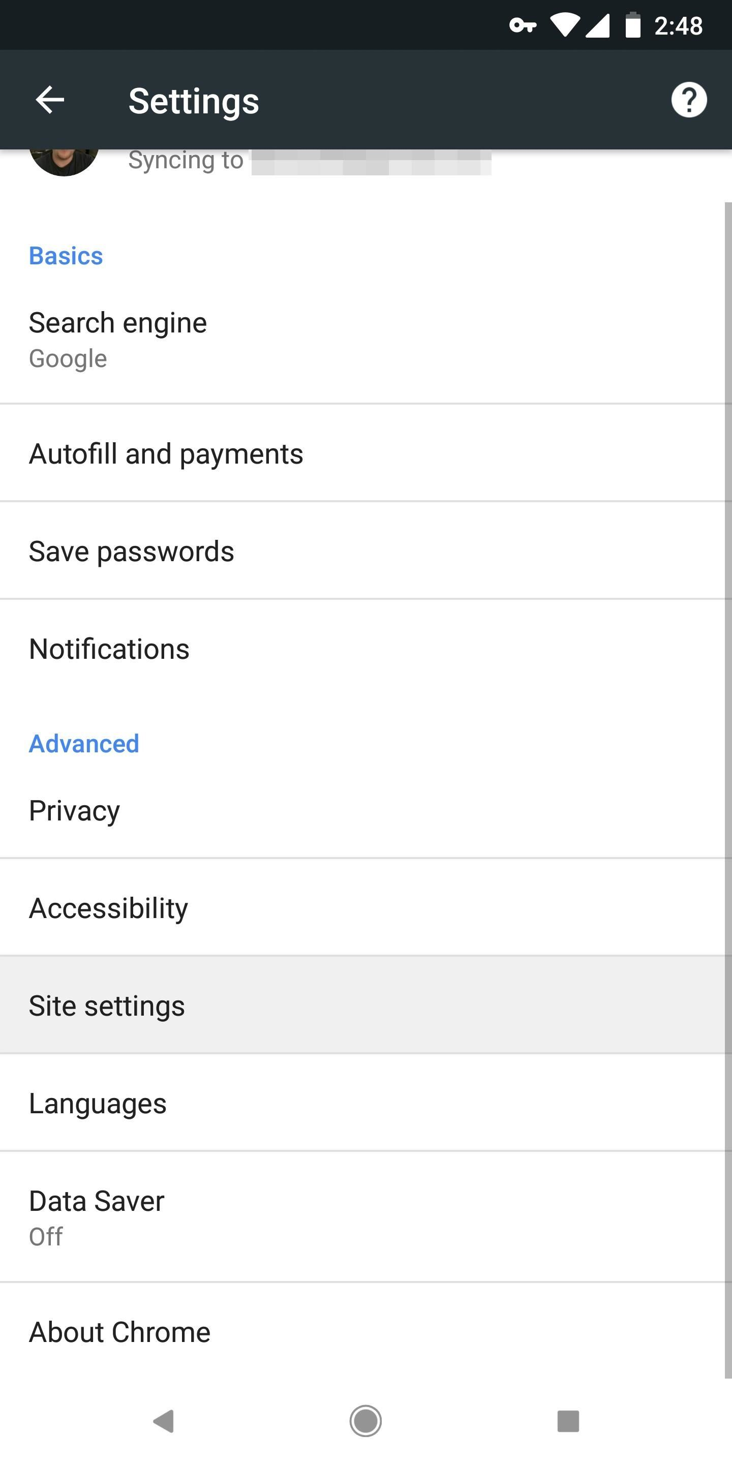 Make Android Stop Asking If At Home
