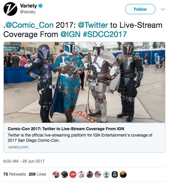 Can't Make It to San Diego Comic-Con? Twitter Has Your Back