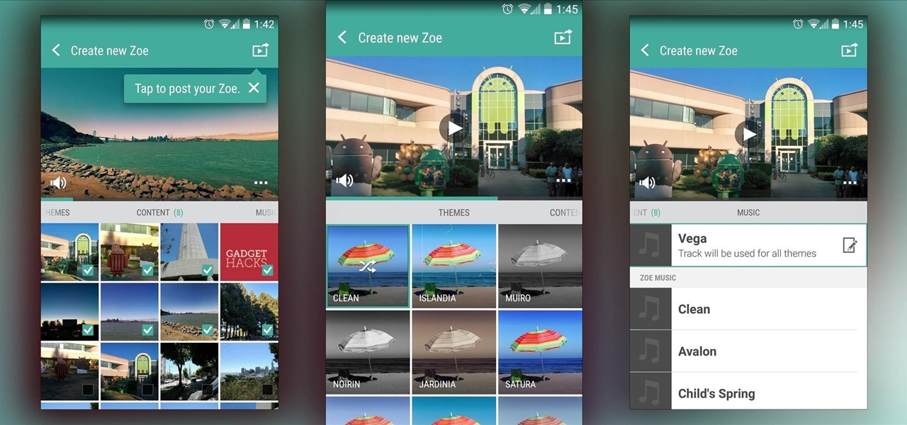 Use HTC's Zoe to Create & Share Pro-Quality Videos on Any Android KitKat Phone