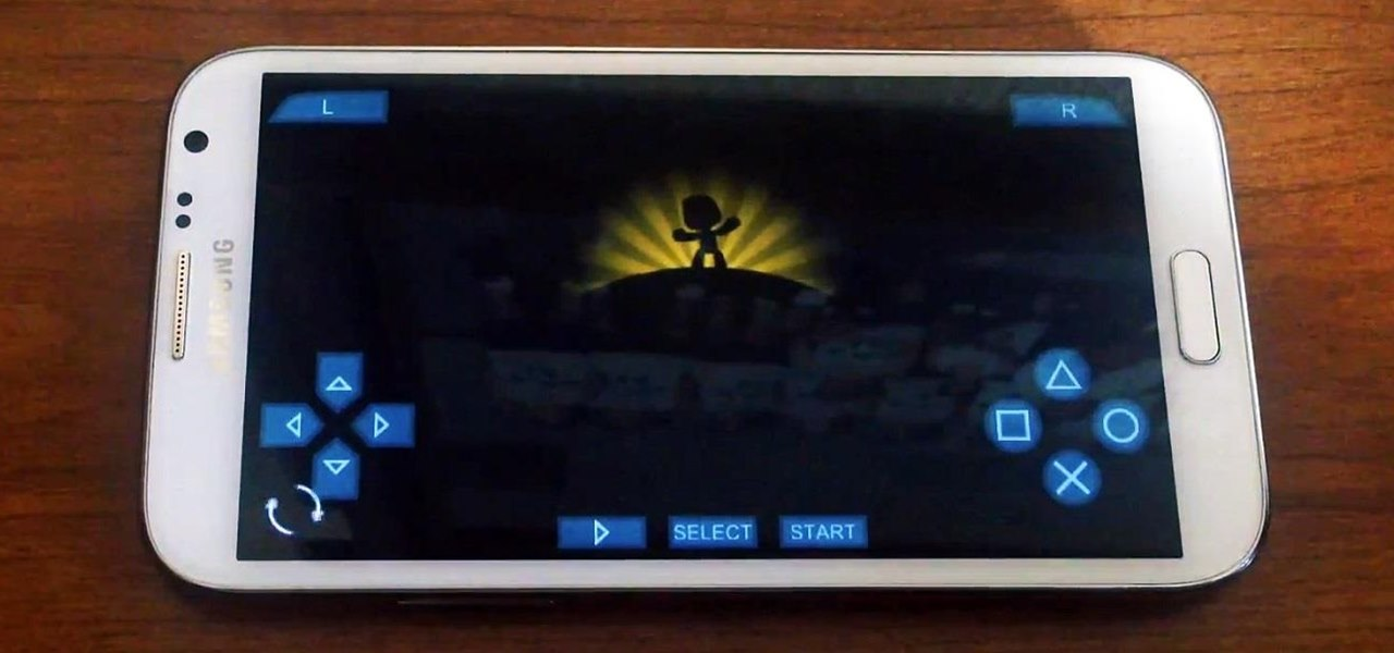Play PSP Video Games Smoothly on Your Samsung Galaxy Note 2