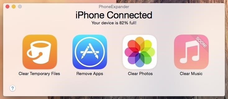 PhoneExpander: A Faster, Easier Way to Free Up Space on Your iPhone