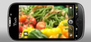Take pictures with a T-Mobile myTouch 4G smartphone