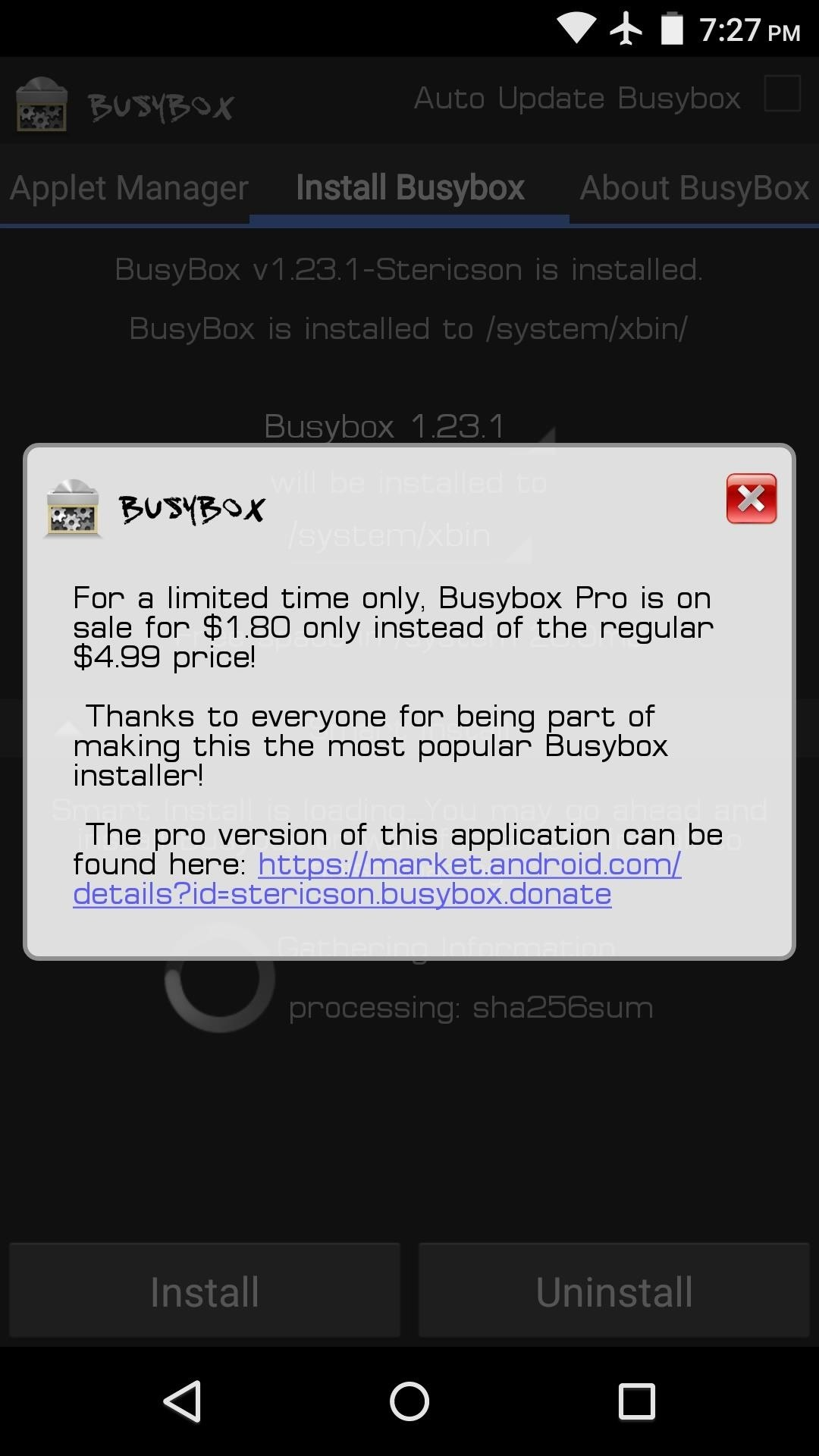 Android Basics: How to Install BusyBox Commands