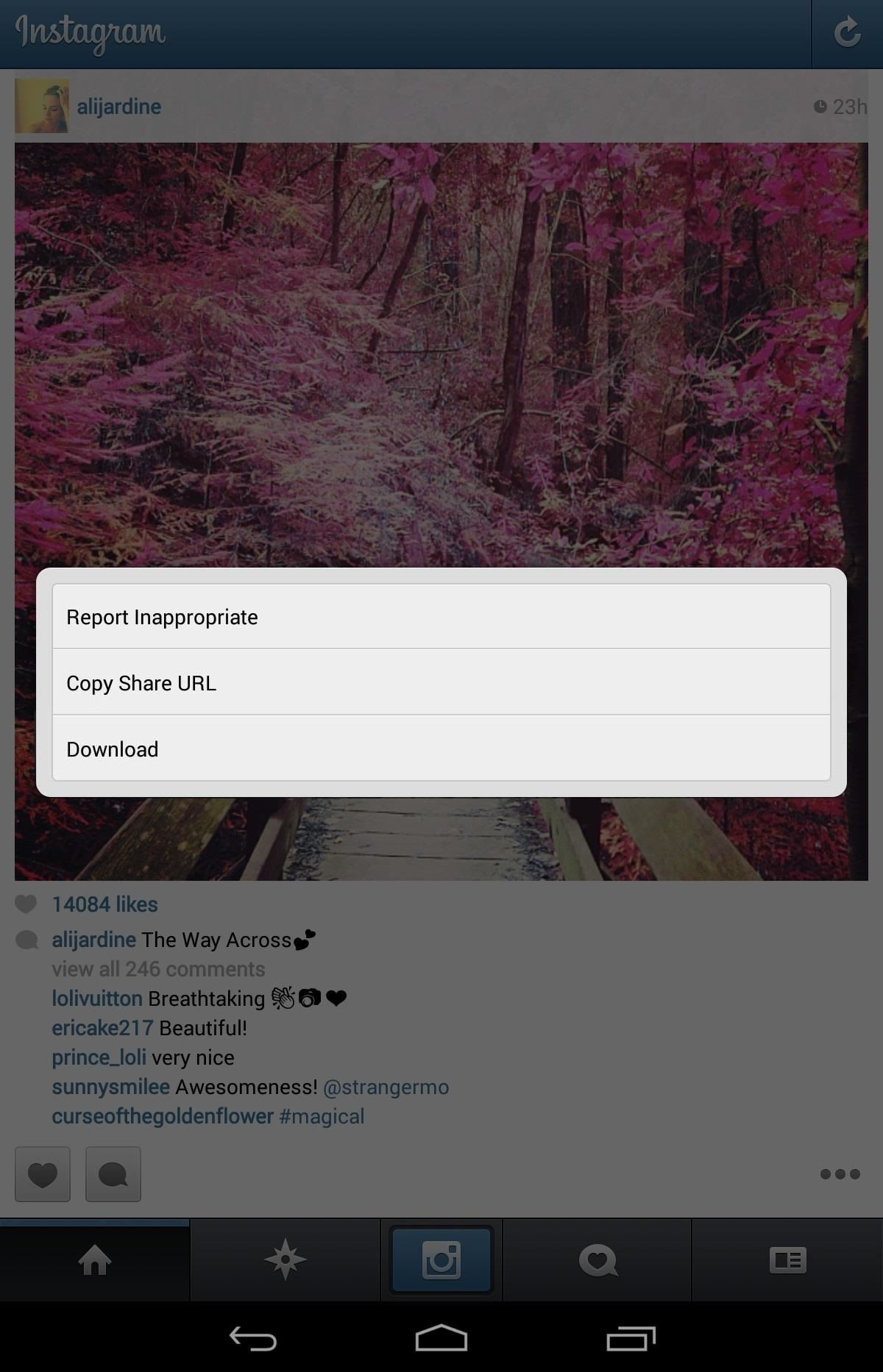 How to Download & Save Any Instagram Photo or Video You Want to Your Nexus 7 Tablet