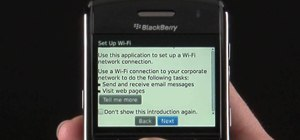 Use the Scan for Networks tool on a BlackBerry Bold 9650 phone