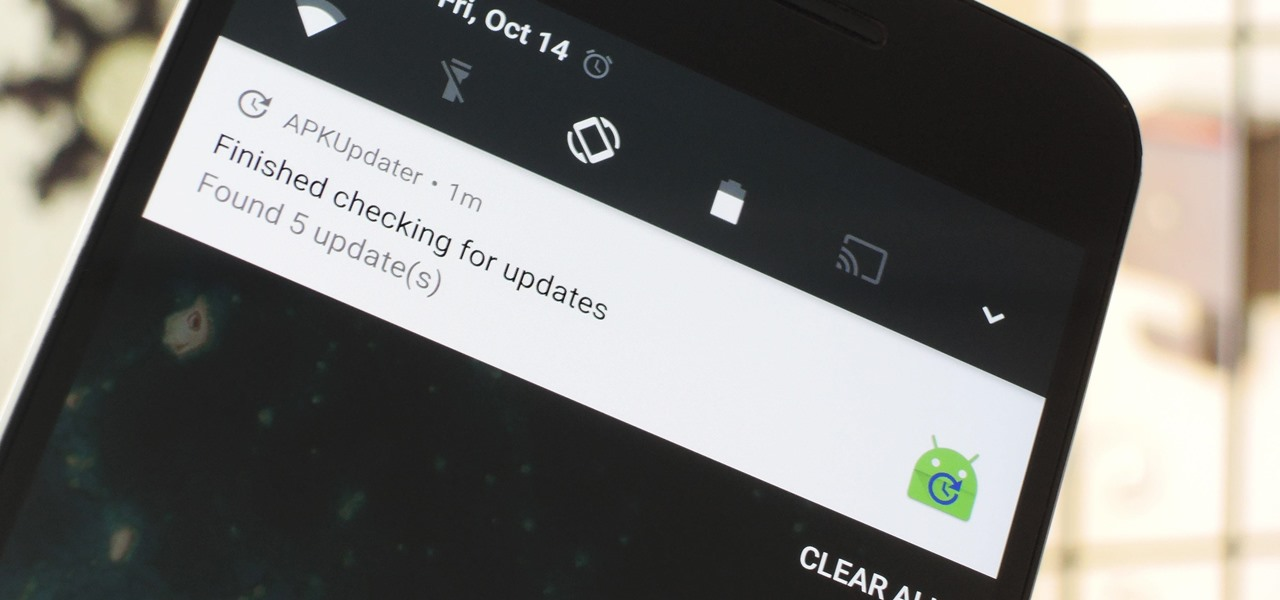 Get Easy Updates on Sideloaded Android Apps
