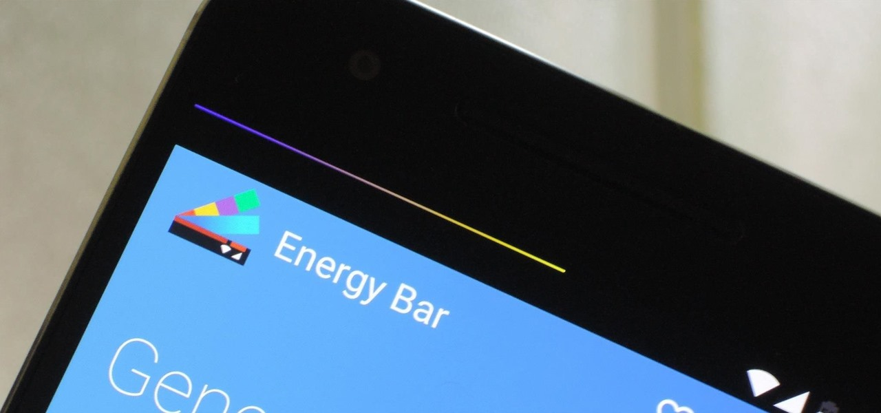 Energize Your Status Bar with a Color-Coded Battery Indicator