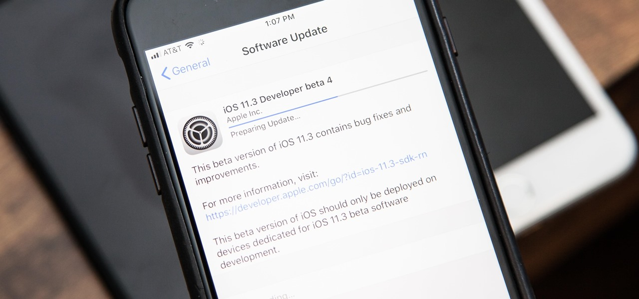 iOS 11.3 Beta 4 Released for iPhone with Under-the-Hood Improvements