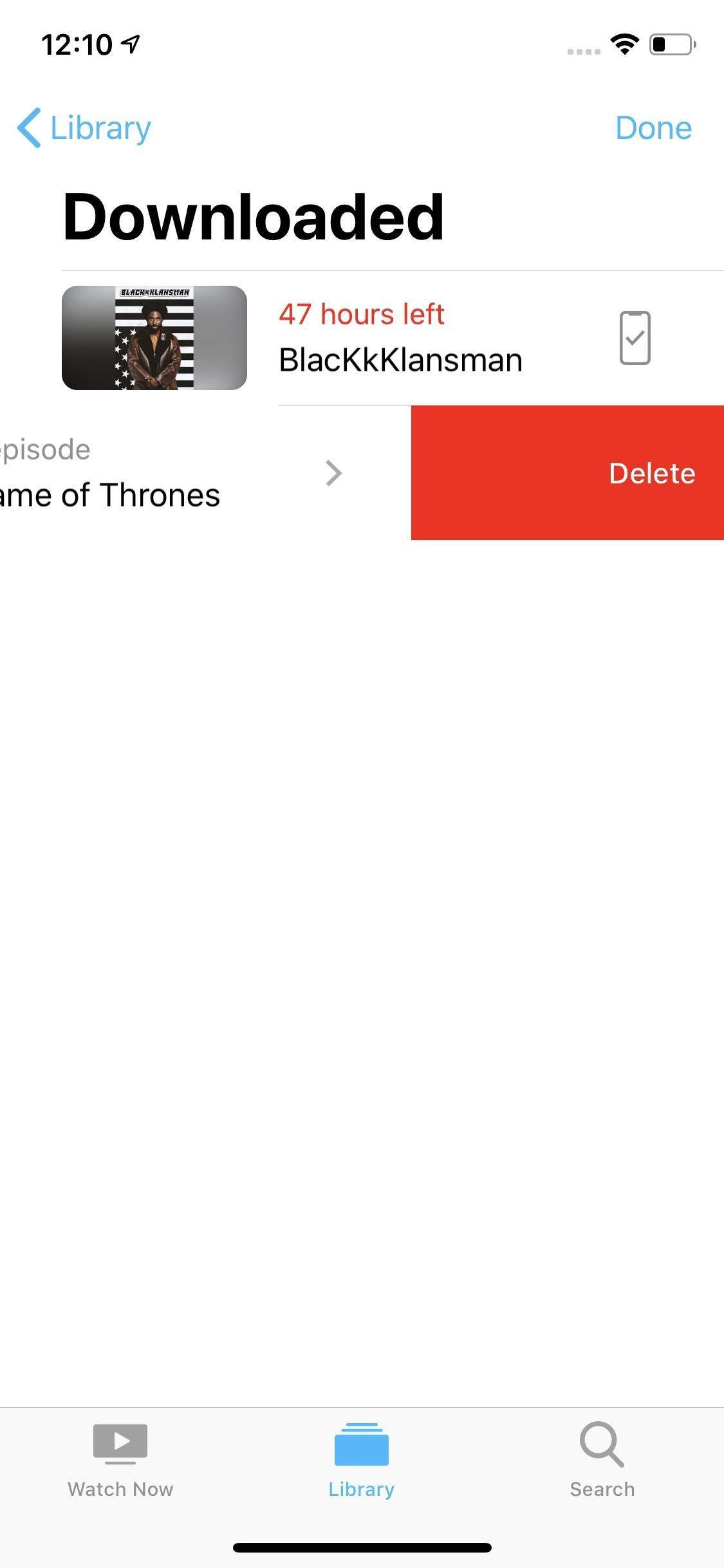 "How HBO appears offline on your iPhone for ""Game of Thrones"" at any time"