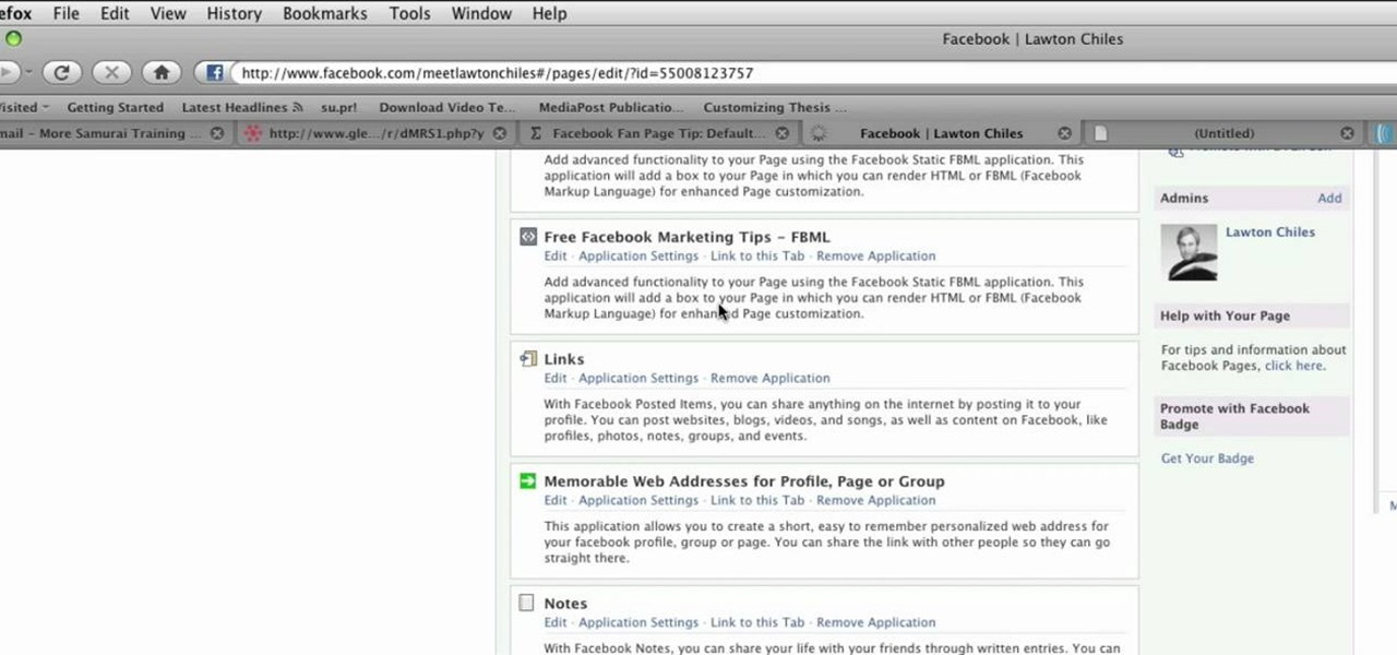 how to create a fan facebook page