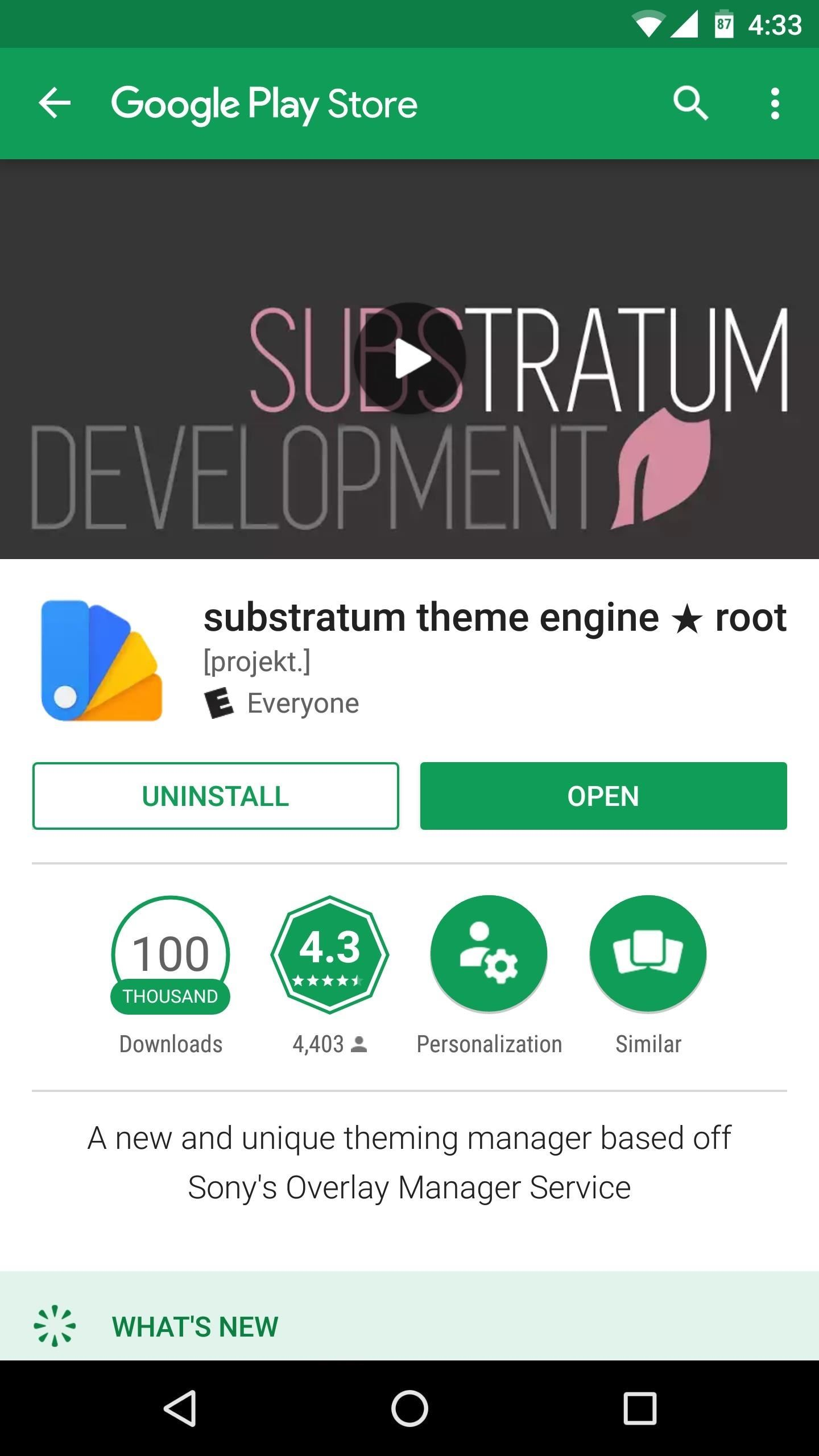 Use substratum to completely theme your android marshmallow or install substratum theme engine for free from the google play store voltagebd Choice Image