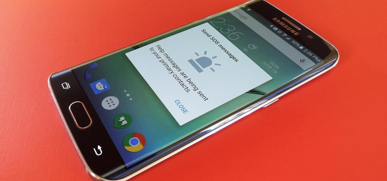 Use the SOS Feature on Your Galaxy S6 in Case of an Emergency