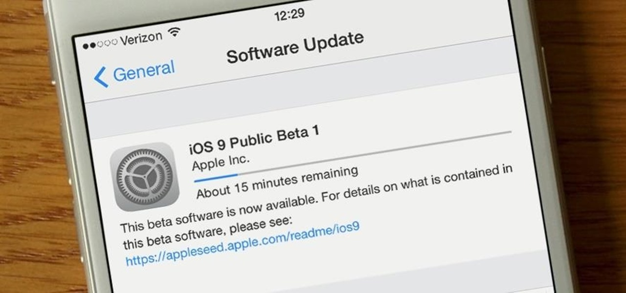iOS 9 Public Beta Now Available (Here's What's New & How to Install It)