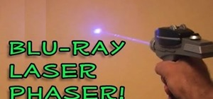 Make a Blu-Ray Laser Phaser