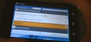 Install a custom ROM on a Dell Streak Google Android tablet