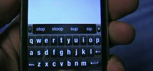 Use ShapeWriter for iPhone to text extremely fast