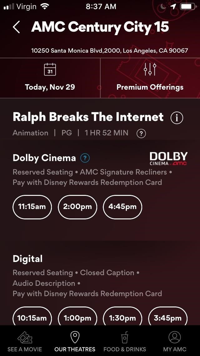 The Stubs of AMC A-List movie ticket subscription can not be defeated for movie-addicted addicts