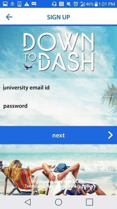 DownToDash Helps You Hang Out with Other College Students