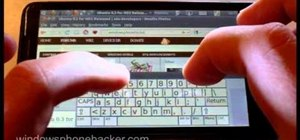 Use Ubuntu v0.3 on an HTC HD2 Windows Phone 7 smartphone